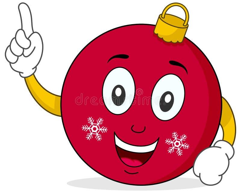 Download Cute Christmas Ball Character Stock Vector - Image: 27105101