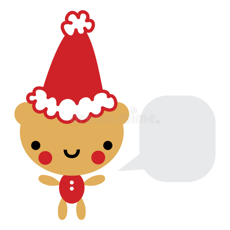 Free Cute Christmas Bear Royalty Free Stock Images - 7204779