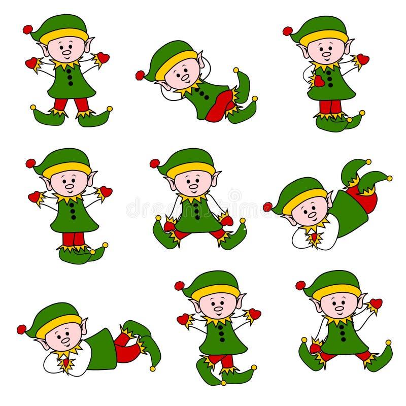 Cute Christmas Elf Set