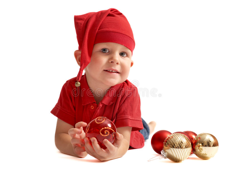 Cute Christmas Gnome Royalty Free Stock Image