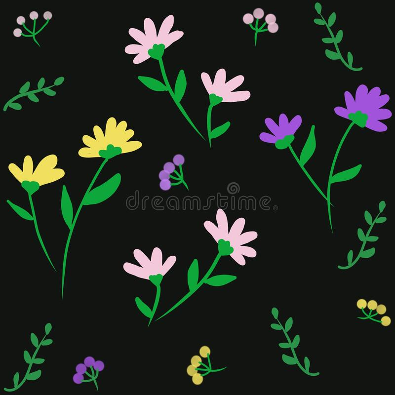 Cute Flower Background Stock Illustrations 325 096 Cute Flower Background Stock Illustrations Vectors Clipart Dreamstime