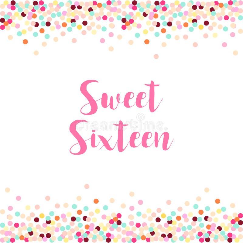 Fancy Sweet Sixteen Frames Illustration - Ideas de Marcos ...