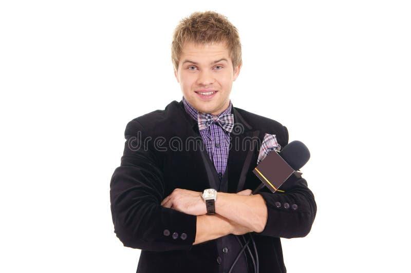 Download Cute Correspondent Portrait Stock Photo - Image: 22294302