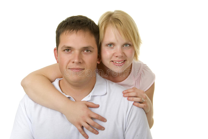 Download Cute Couple In 30s Share A Moment Stock Photo - Image: 11724652