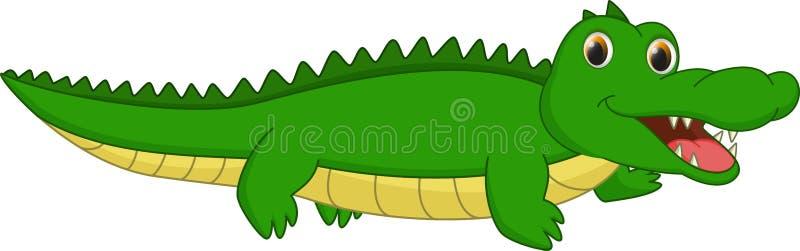 Cute crocodile cartoon stock vector. Illustration of humor ...