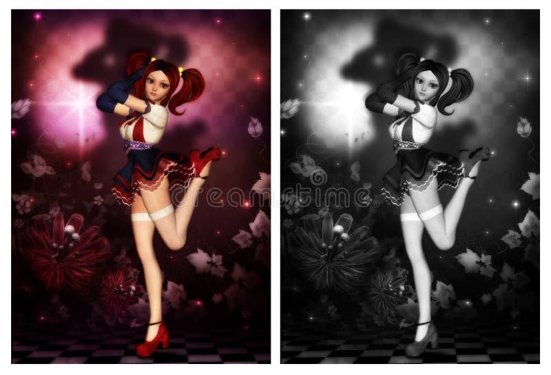 Cute Dancer royalty free stock image