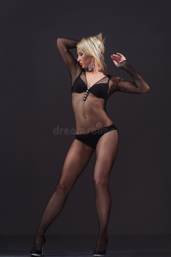 Cute dancer stock photo