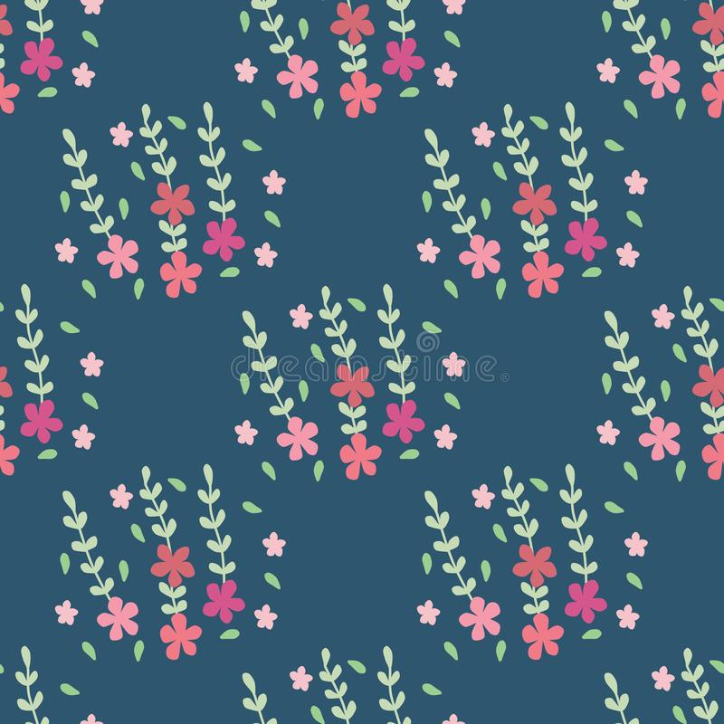 Cute design of flower pattern stock photos