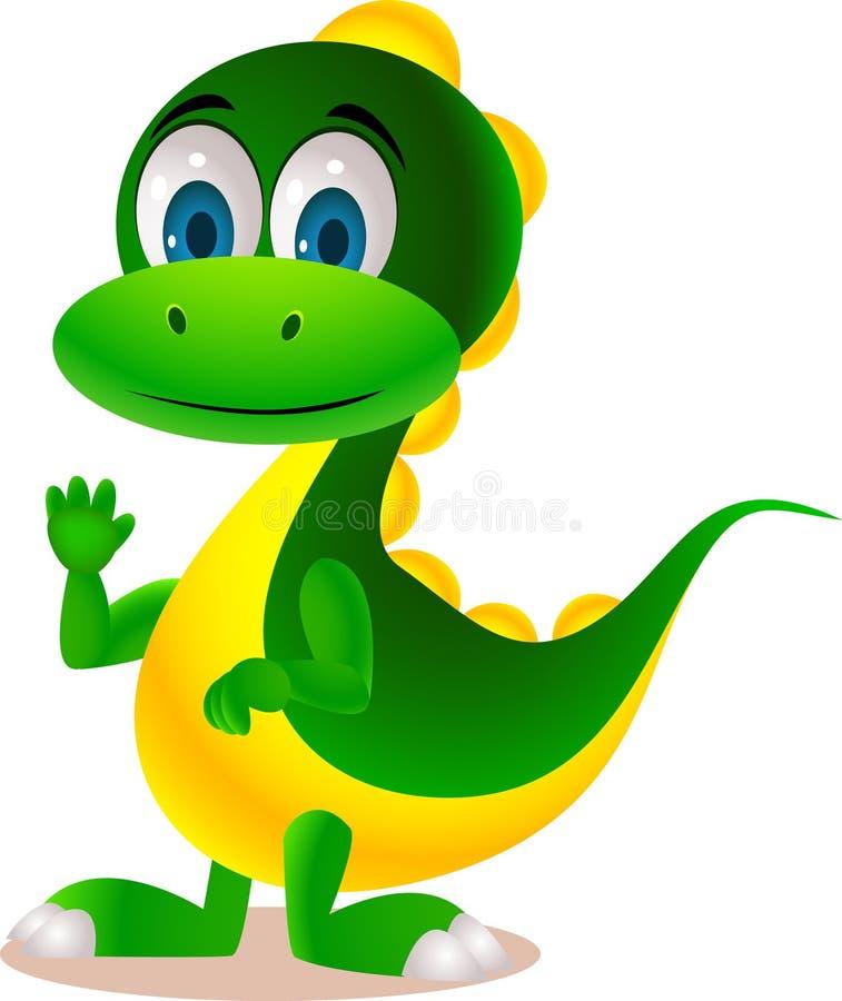 Download Cute dinosaur stock vector. Image of park, prehistoric - 20064119