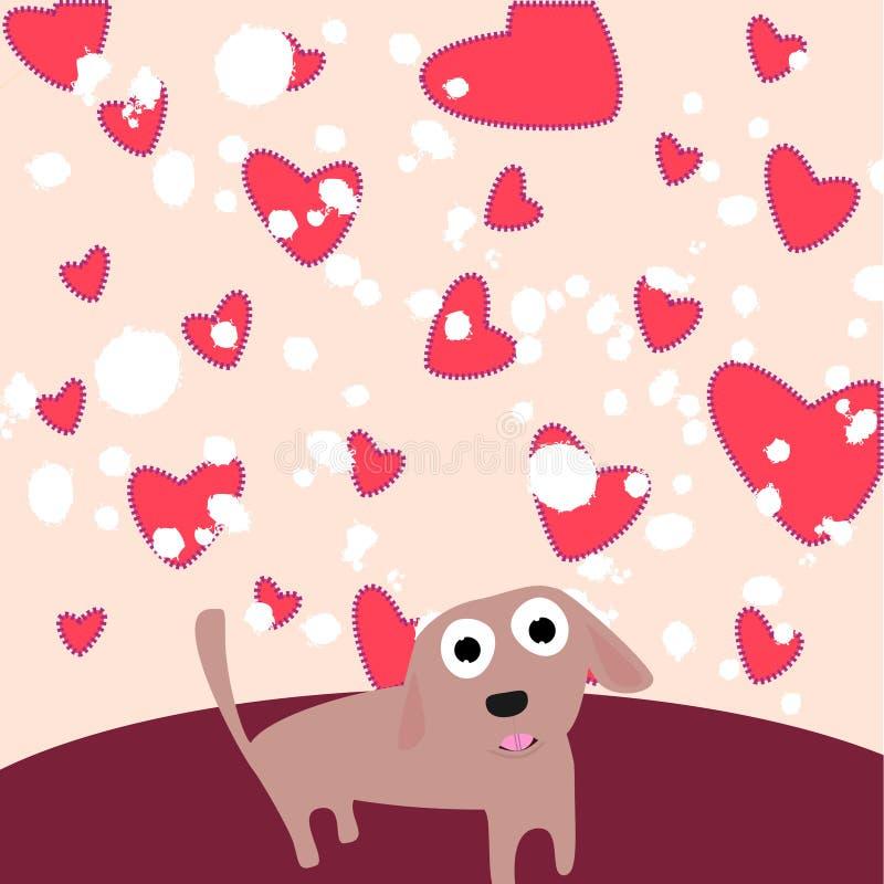 Cute dog stock illustration