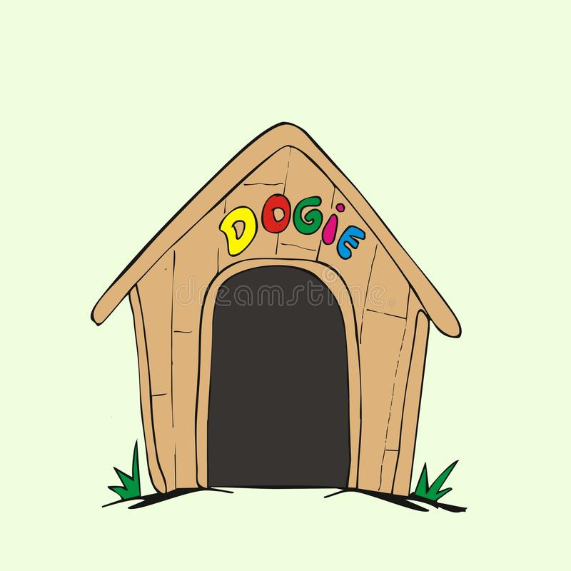 Cute Dog House Clipart
