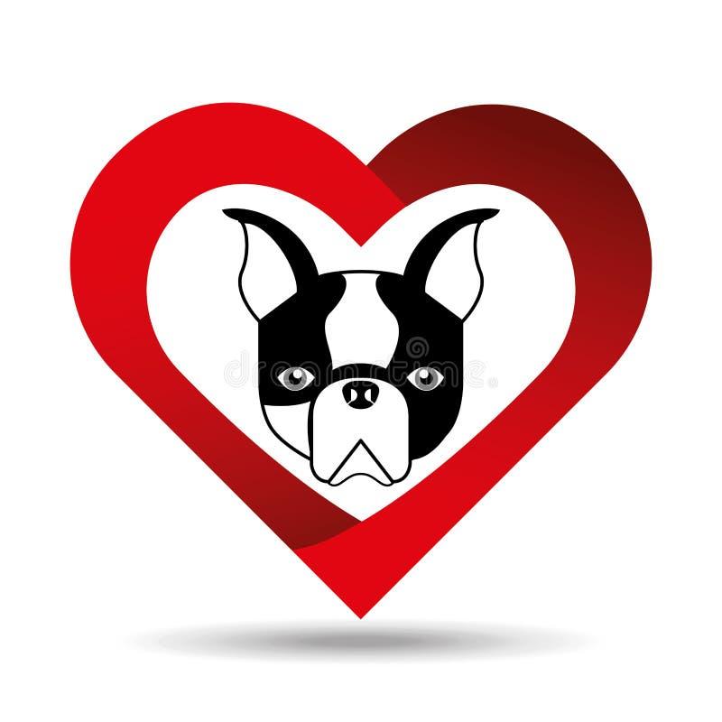 Beautiful Bulldog Canine Adorable Dog - cute-dog-pet-french-bulldog-heart-background-vector-illustration-eps-81193062  HD_907121  .jpg