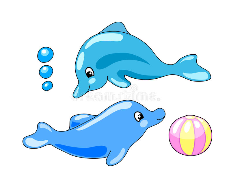 Dolphins Playing Stock Illustrations – 303 Dolphins Playing Stock  Illustrations, Vectors & Clipart - Dreamstime