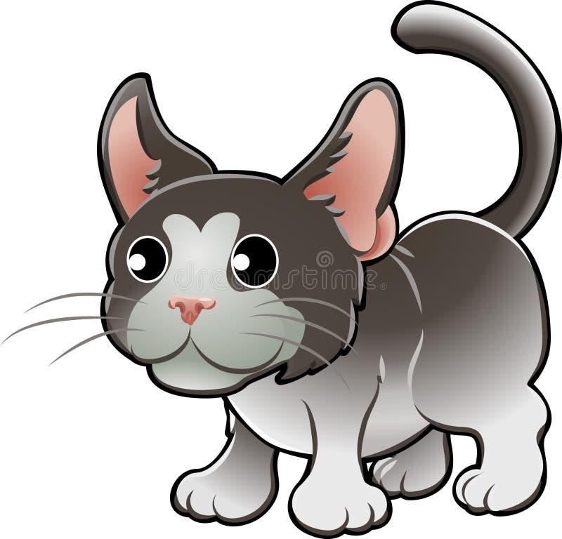 Cute Domestic Cat Vector Illus Stock Image