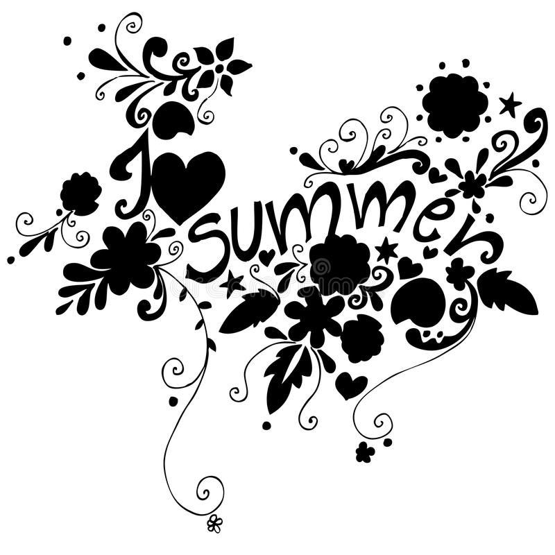 Download Cute Doodle Summer Background Royalty Free Stock Photography - Image: 18935757