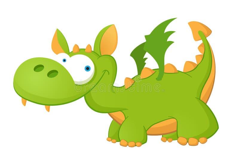 Cute Dragon stock illustration