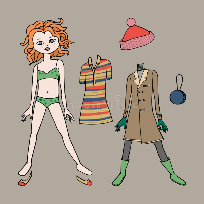 paper doll template woman - cute dress up paper doll body template clothing and