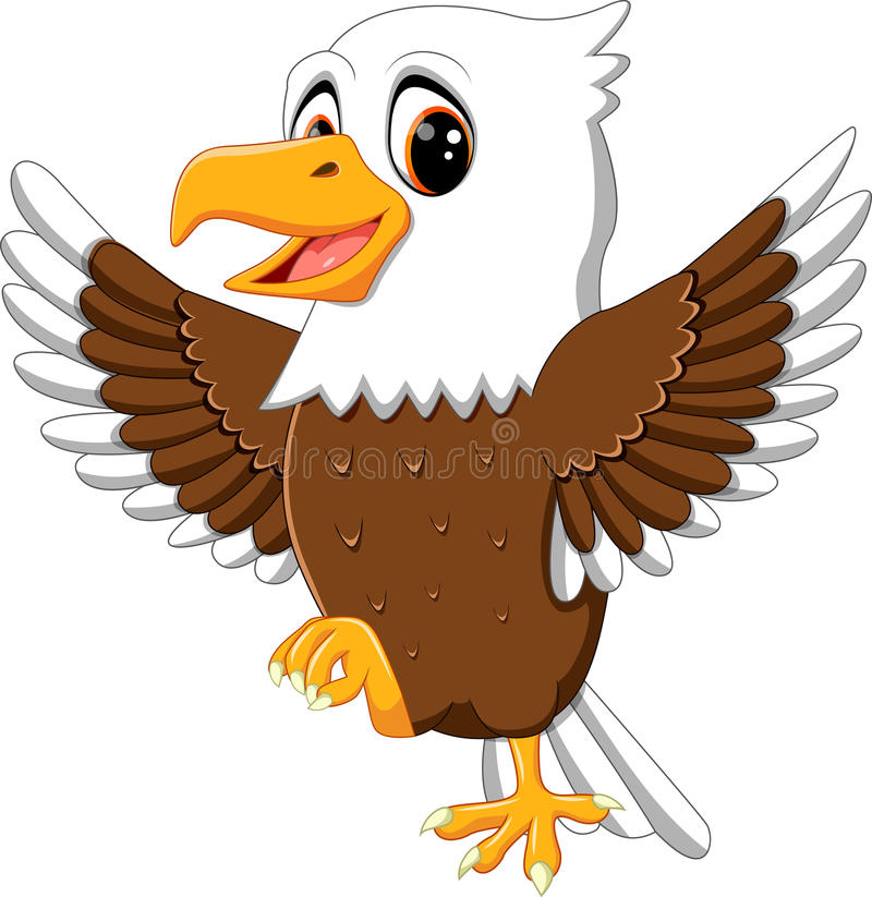 Free Cute Eagle Royalty Free Stock Photos - 71525758