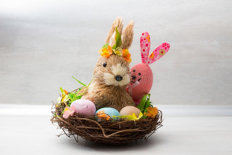 Cute Easter decoration royalty free stock image