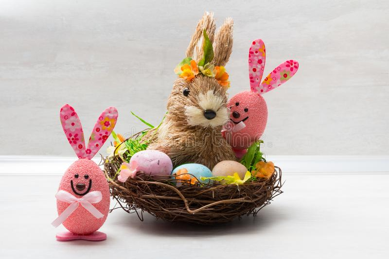 Cute Easter decoration royalty free stock photos
