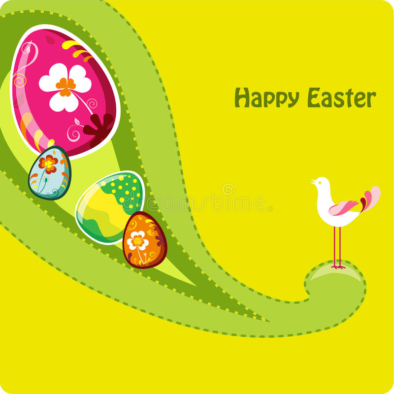 Download Cute Easter Greeting Card. Royalty Free Stock Photo - Image: 13451935