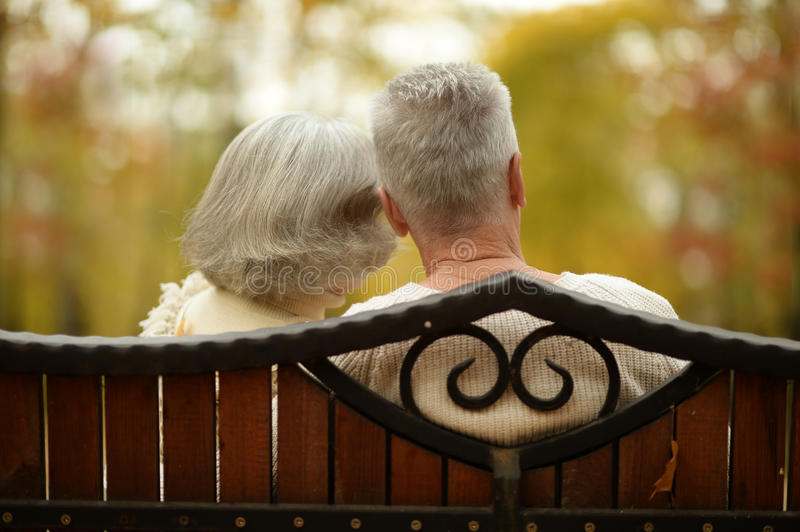Download Cute elderly couple stock photo. Image of fashionable - 45779710