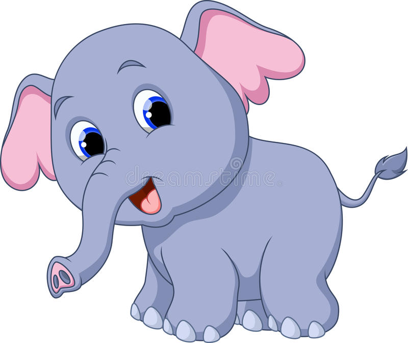 cute elephant cartoon stock illustration illustration of circus clip art black and white coloring page circus clipart coloring
