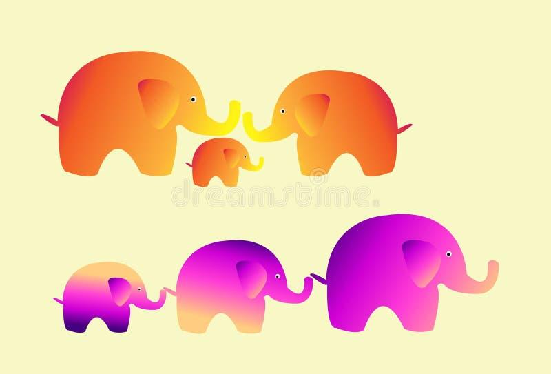 Cute elephant vector stock photography