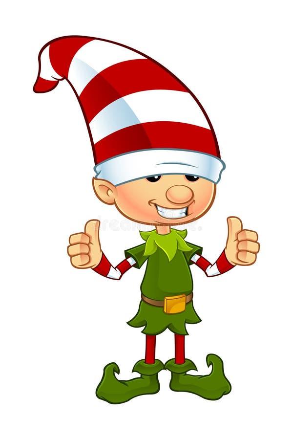Cute Elf Character stock illustration