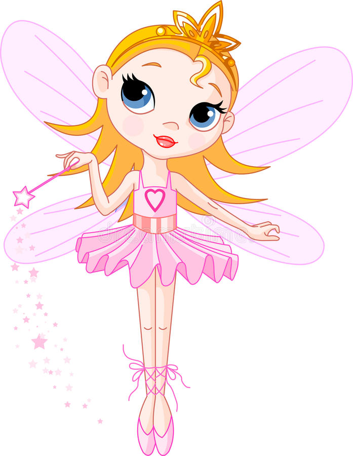 Download Cute fairy stock vector. Image of beautiful, child, angel - 11659877
