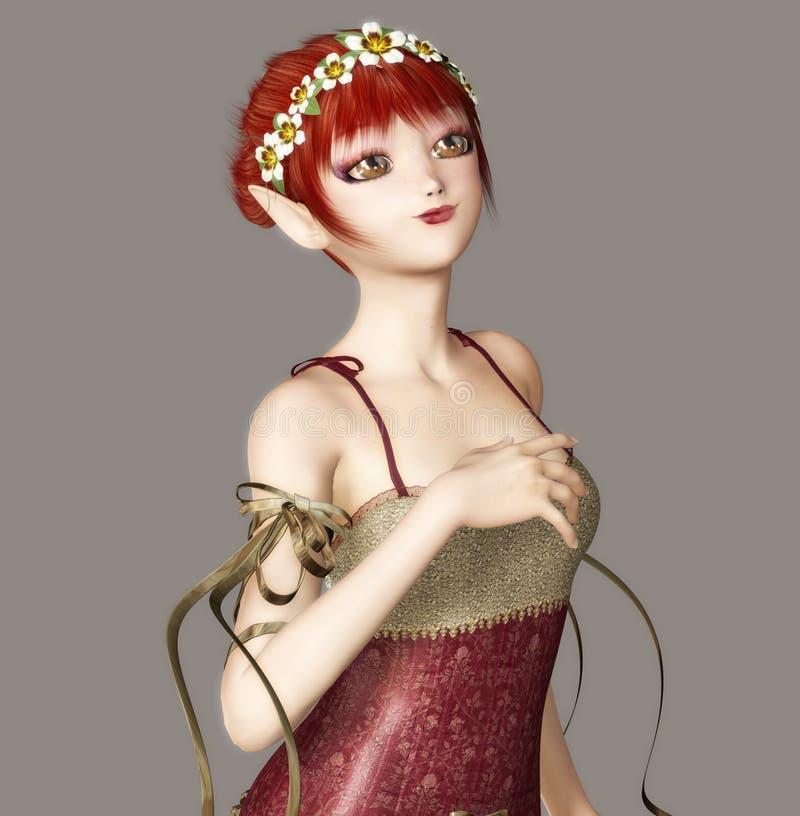 Cute Fairy royalty free illustration