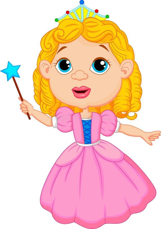 Cute fairy cartoon vector illustration