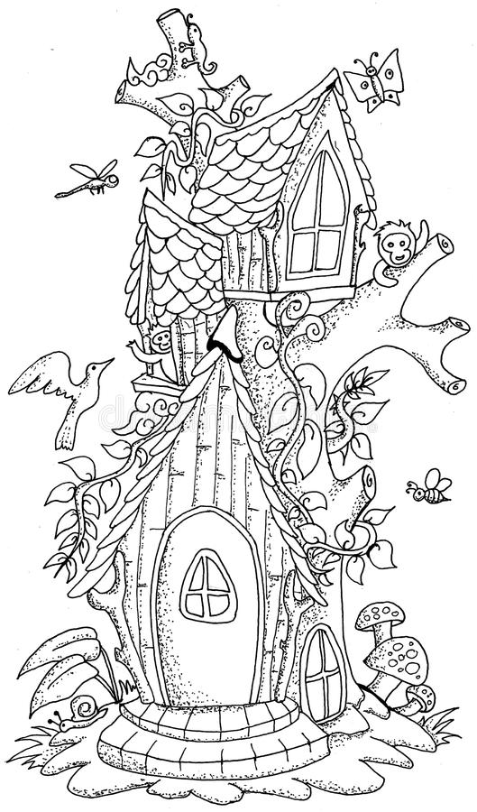 free mystical coloring pages - photo#14