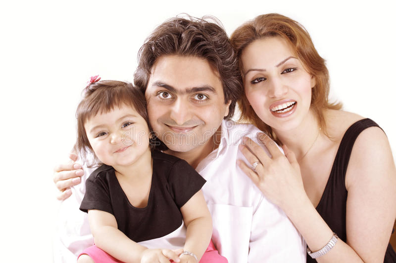 Cute family stock images