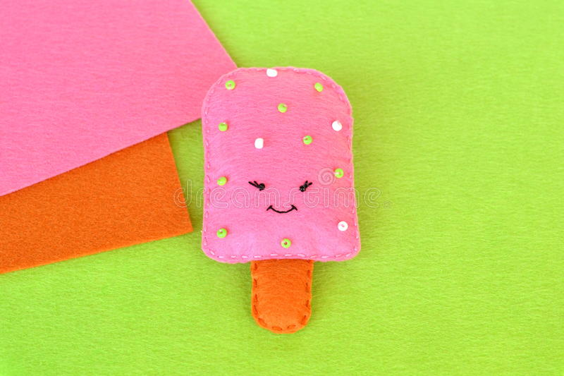 Download Cute Felt Ice Cream Toy Food Pattern Crafts Easy