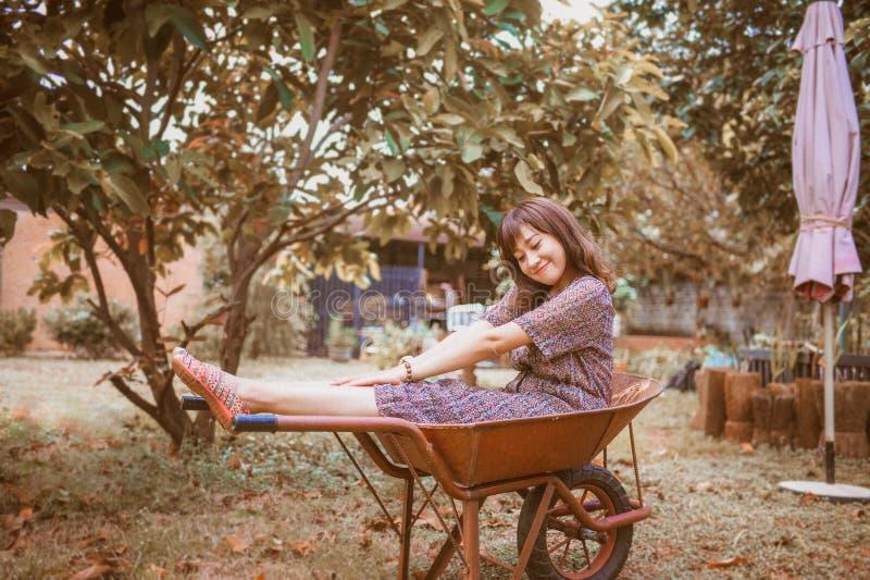Cute, Female, Fun royalty free stock photos