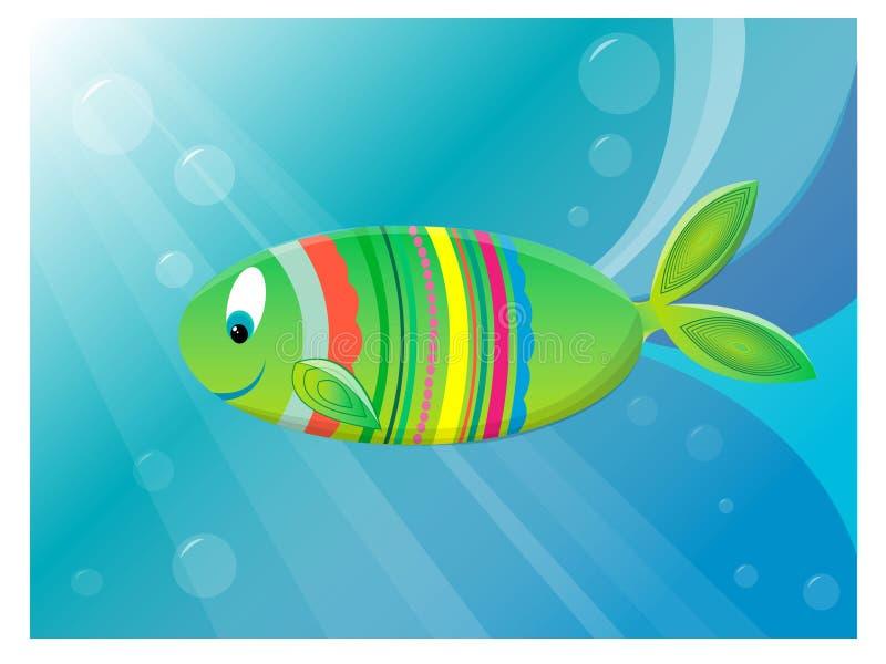 Download Cute fish stock vector. Image of bubbles, deep, fish - 28504034