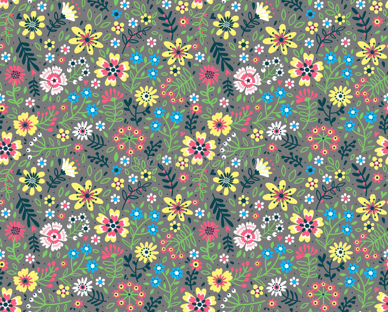 Cute Floral pattern. royalty free illustration