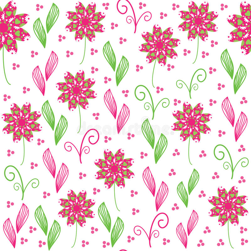 Download Cute  Floral Seamless Pattern, And Seamless Patter Stock Photo - Image: 34701500