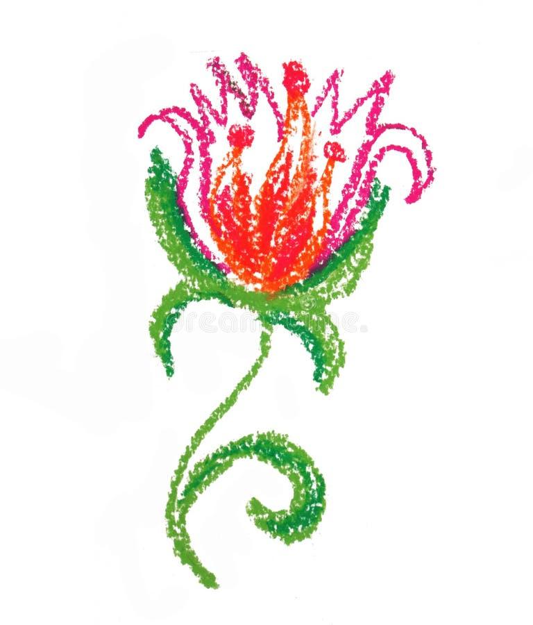 Download Cute flower stock illustration. Illustration of handdrawn - 23615876