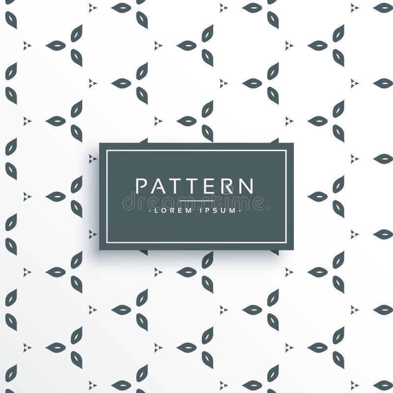 Cute flower pattern design vector illustration