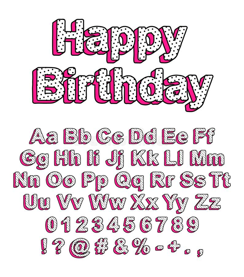 Free Cute Font In The Style Lol Doll Surprise Stock Photo - 146815460