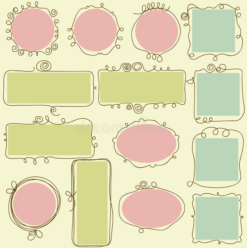 Download Cute Frames Royalty Free Stock Photos - Image: 20549288