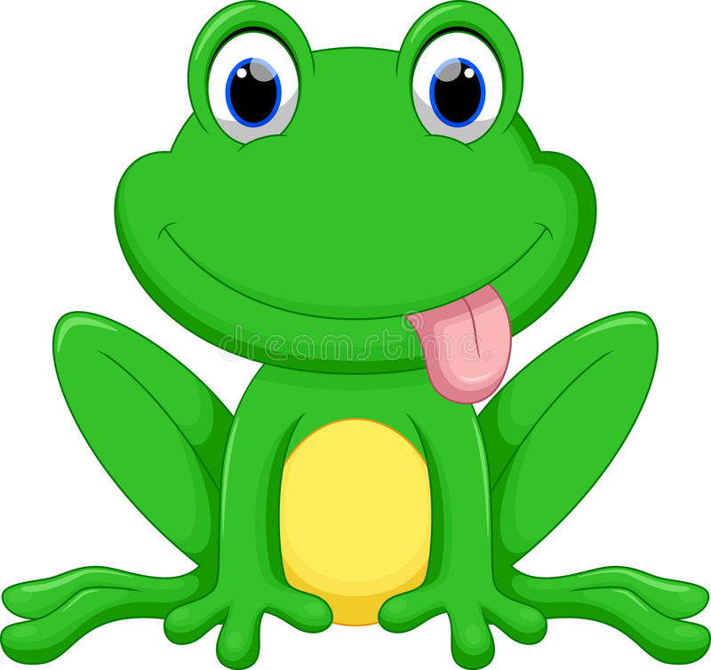 cute frog cartoon stock illustration illustration of bullfrog rh dreamstime com african bullfrog cartoon barking bullfrog cartoon company
