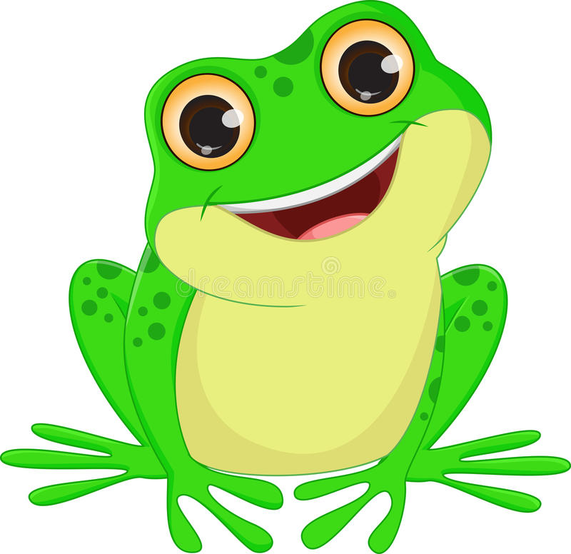 how to draw a cute cartoon frog