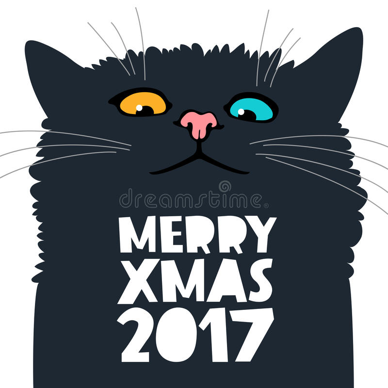 Cat Stock Quote Fascinating Cute And Funny Cat Stock Vectorimage Of Party Lying  78529874