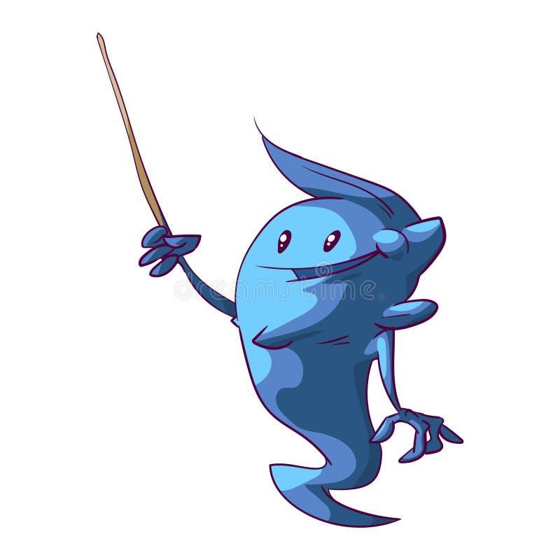 Cute genie kid stock illustration