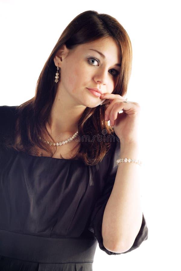 Download Cute girl stock image. Image of color, beautiful, heels - 13041295