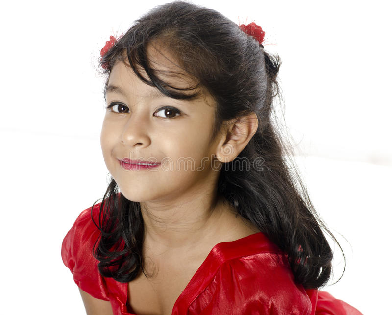 Download A Cute Girl In Happy Mood stock photo. Image of congratulation - 41843812