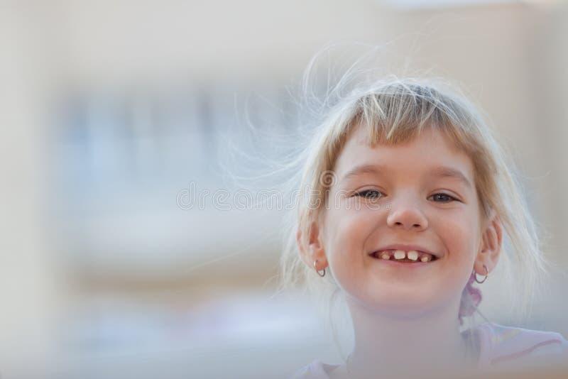 Download Cute girl having fun. stock image. Image of active, elemantary - 22358529